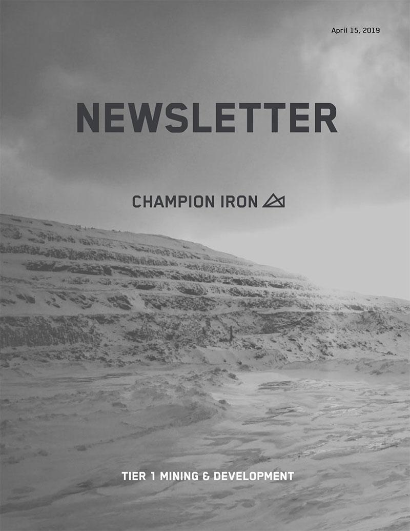 Champion's Newsletter